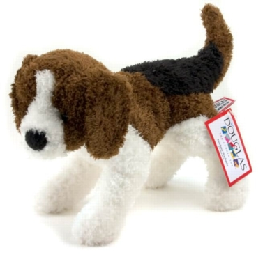 Spicy Beagle - 9'' Dog by Douglas Cuddle Toys