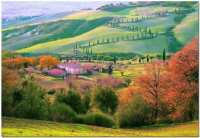 Tuscany, Italy - 1500pc Jigsaw Puzzle by Educa