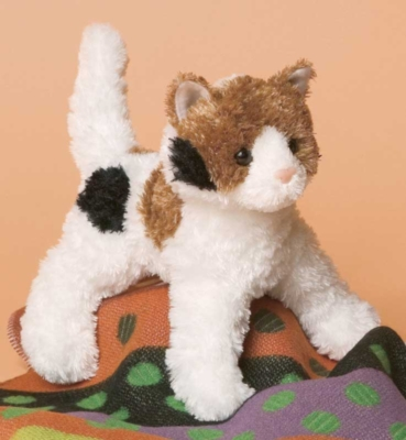 Wilma Calico - 9'' Cat By Douglas Cuddle Toys