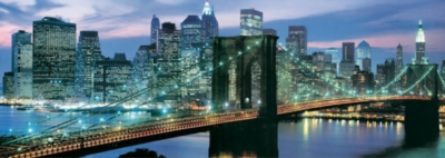 New York City Puzzle - Brooklyn Bridge - Educa
