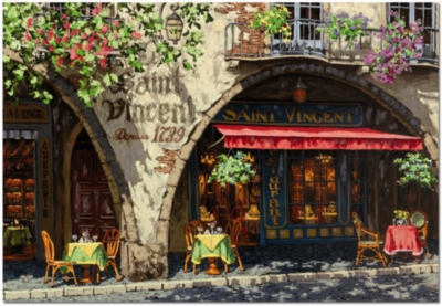 Viktor Shvaiko: Summer in Provence - 1500pc Jigsaw Puzzle by EDUCA