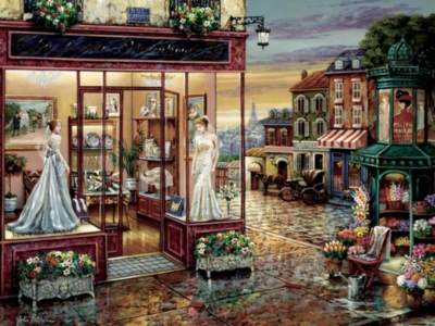 Rue L'Amour - 500pc Jigsaw Puzzle by Cobble Hill