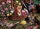 Kittens - 275pc Large Format Jigsaw Puzzle by Cobble Hill