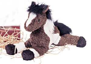 Durango Indian Paint - 9'' Horse by Douglas Cuddle Toys