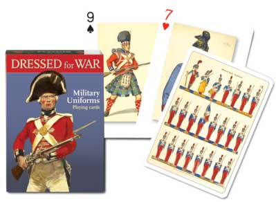 Dressed For War - Playing Cards