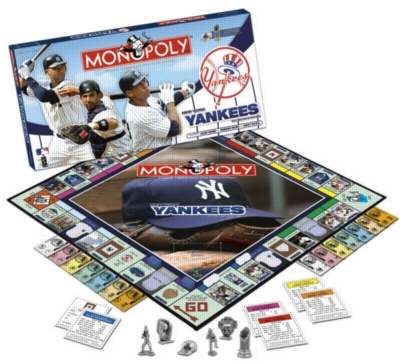 Monopoly: New York Yankees 2008 - Board Game