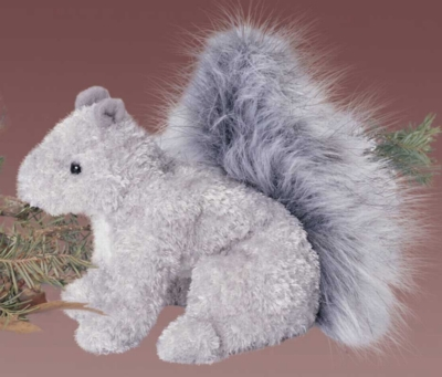 Nutlee - 6'' Squirrel By Douglas Cuddle Toys