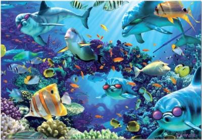 Sunlit Sea - 500pc Jigsaw Puzzle by Educa