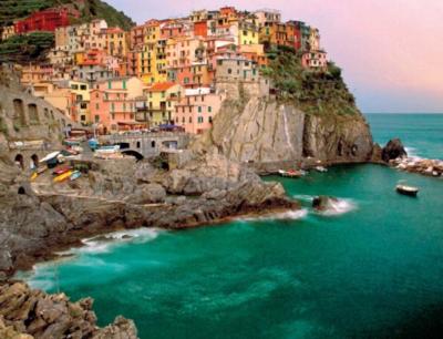 Jigsaw Puzzle - Cinque Terre Italy