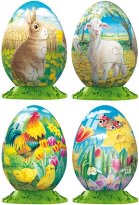 Easter - 4 x 30pc Puzzleball Collection by Ravensburger