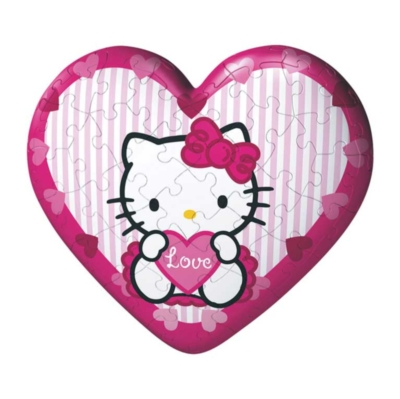 Hello Kitty: Hearts - 2 x 60pc Puzzleball Collection by Ravensburger