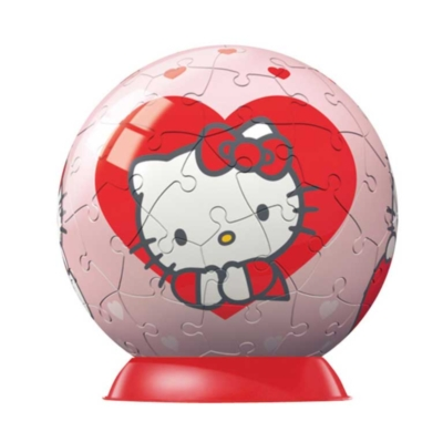 Hello Kitty: Hearts and Apples - 2 x 60pc Puzzleball Collection by Ravensburger