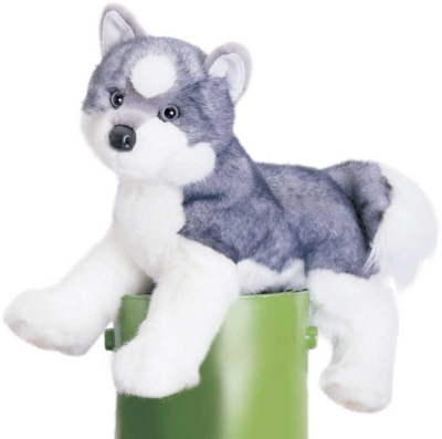 Sasha Husky - 16'' Dog by Douglas Cuddle Toys