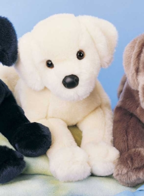 Mandy Yellow Lab - 16'' Dog By Douglas Cuddle Toys