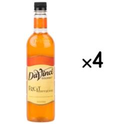 Davinci Fruit Innovations Flavored Syrups - 750 ml. Plastic Bottle Case