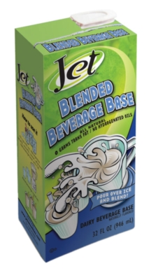 Jet Blended Beverage Base - 32oz Carton