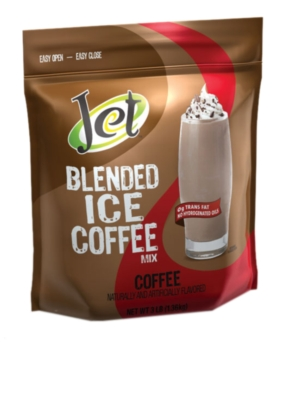 Jet Blended Iced Coffee Mix - 3lb. Bulk Bag Assorted Case