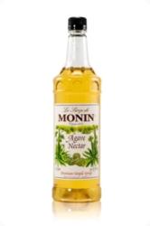 Monin Agave Nectar Sweetener - 1 Liter Plastic Bottle Case