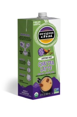 Oregon Organic Chai Tea: Original Caffeine Free - 32 oz. Carton