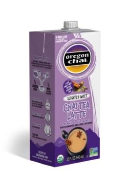 Oregon Organic Chai Tea: Slightly Sweet - 32 oz. Carton