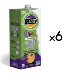 Oregon Organic Chai Tea: Original Caffeine Free - 32 oz. Carton Case