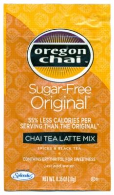 Oregon Chai Tea Mix: Original Sugar Free - Single Serve Packet