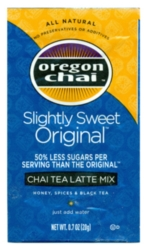 Oregon Chai Tea Mix: Slightly Sweet - Single Serve Packet Case