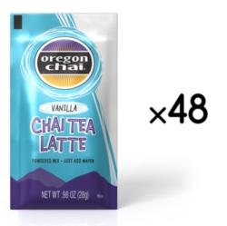 Oregon Chai Tea Mix: Vanilla - Single Serve Packet Case
