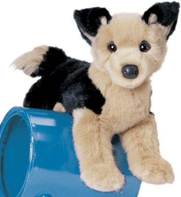 Lester German Sheperd - 16'' Dog By Douglas Cuddle Toys