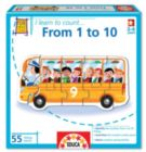 I Learn: From 1 to 10 - 55pc Jigsaw Puzzle by EDUCA
