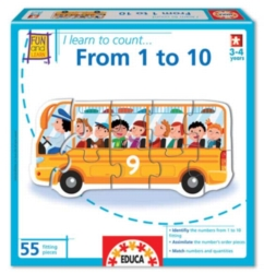 Numbers Jigsaw Puzzles for Kids - I Learn: From 1 to 10