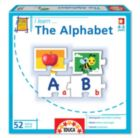 Alphabet Puzzle - I Learn: The Alphabet - 52pc Jigsaw Puzzle by EDUCA