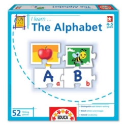 Alphabet Puzzle  I Learn