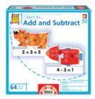 I Learn: To Add and Subtract - 64pc Educational Jigsaw Puzzle by EDUCA