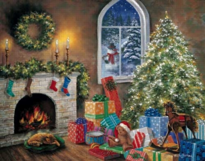 Twas the Night Before Christmas - 1000pc Jigsaw Puzzle by White Mountain