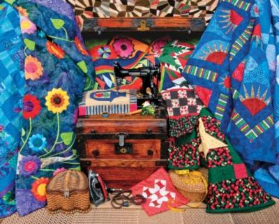 Springbok Jigsaw Puzzles - Stitch in Time