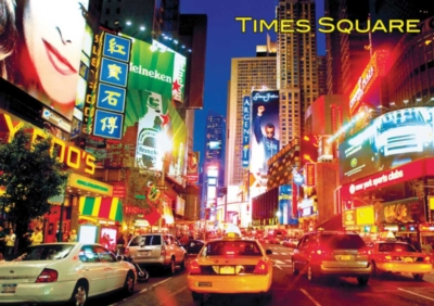Large Format Jigsaw Puzzles - Times Square