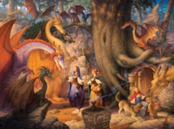 Jigsaw Puzzles - Confabulation Of Dragons
