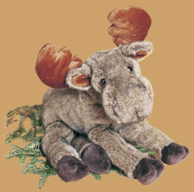 Vern Floppy - 16'' Moose By Douglas Cuddle Toys
