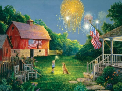 Jigsaw Puzzles - 4th Of July