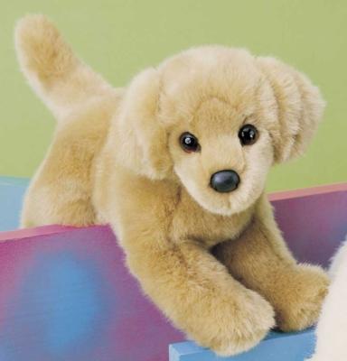 "Sandi Golden Retriever - 12"" Dog by Douglas Cuddle Toys"