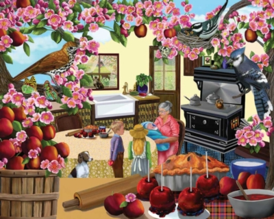 Granny's Apples - 1000pc Jigsaw Puzzle by White Mountain