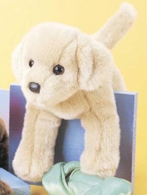"Spankie Yellow Lab - 12"" Dog by Douglas Cuddle Toys"