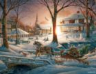 Racing Home - 1000pc Jigsaw Puzzle by White Mountain