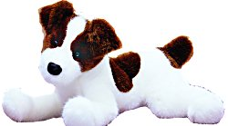 Junior Jack Russell - 12'' Dog by Douglas Cuddle Toys