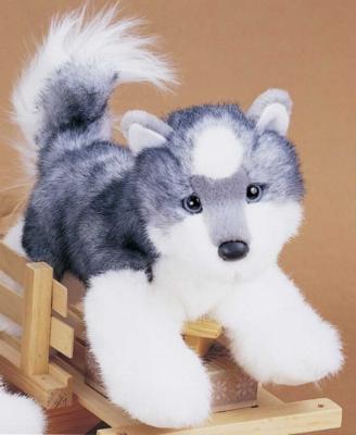 """Joli Husky - 12"""" Dog by Douglas Cuddle Toys"""