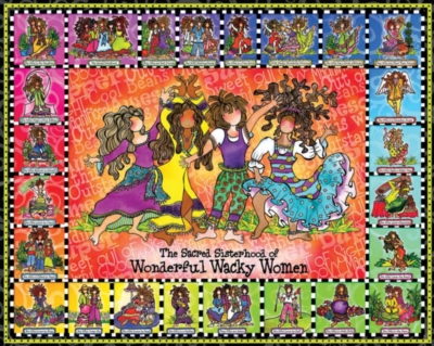Wonderful Wacky Women - 1000pc Jigsaw Puzzle by White Mountain