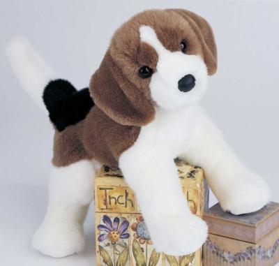 Charleston Beagle - 12'' Dog By Douglas Cuddle Toys
