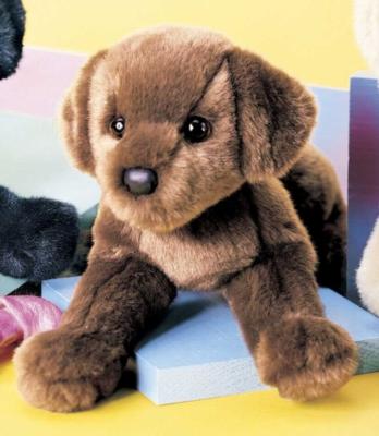 C.C. Bean Chocolate Lab - 12'' Dog by Douglas Cuddle Toys