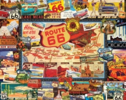 Hard Jigsaw Puzzles - Route 66